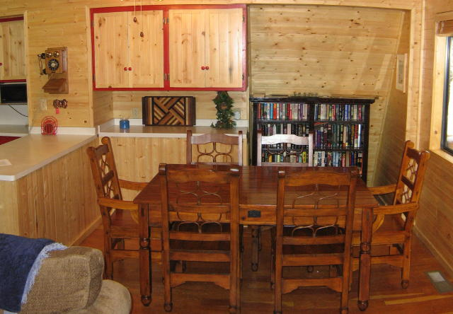 Dining Room & little library